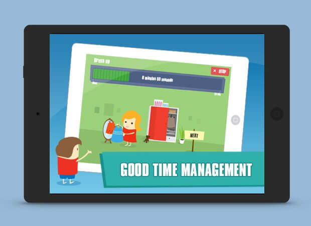 Good time management slide show image