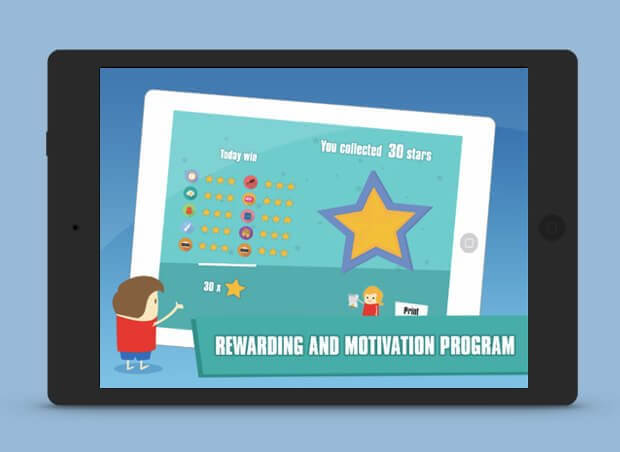 Rewarding and motivation program slide show image