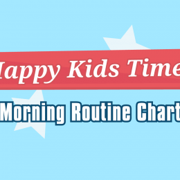 Morning Chore Chart title
