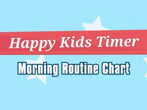Morning Chore Chart title